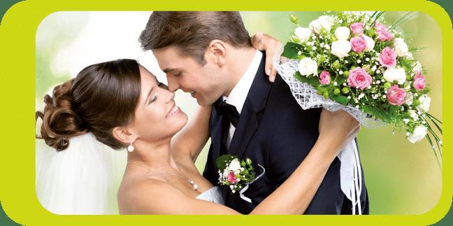 Hochzeit-Brautpaar